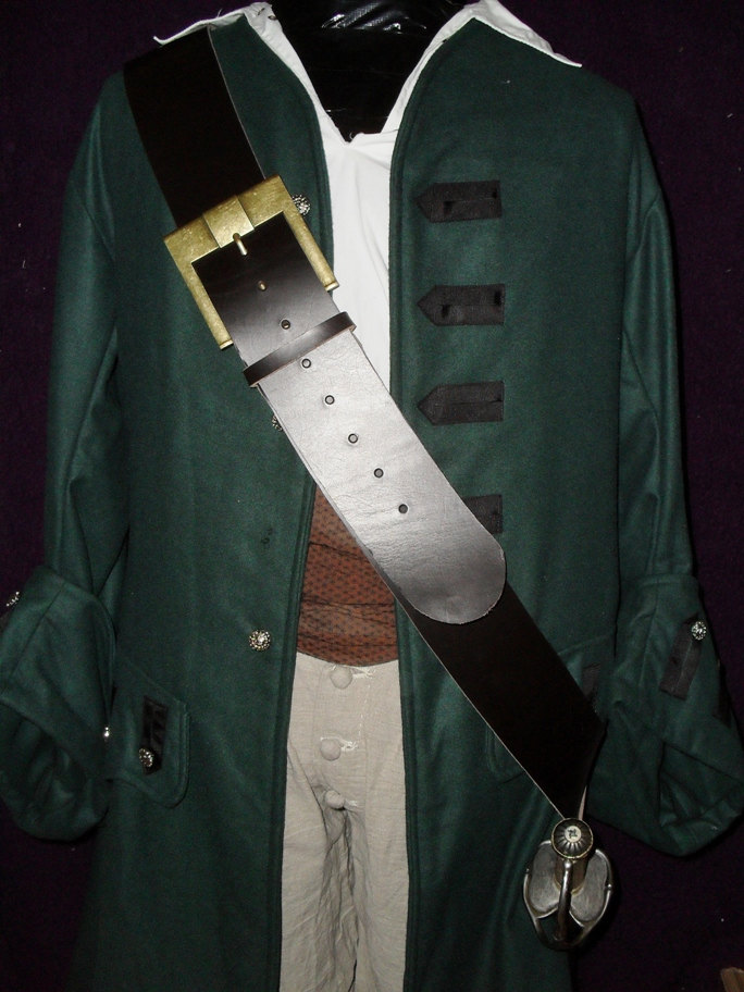 The Caribbean Pirate sword baldric