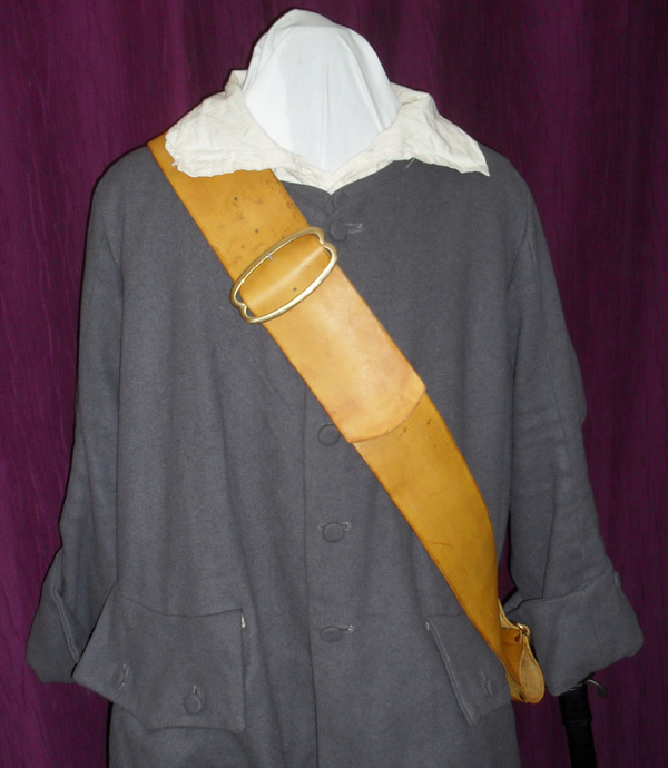 French baldric circa 1650 - 1660