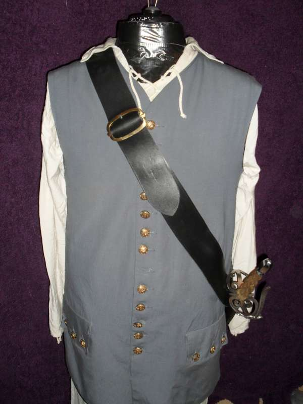 The Privateer sword baldric