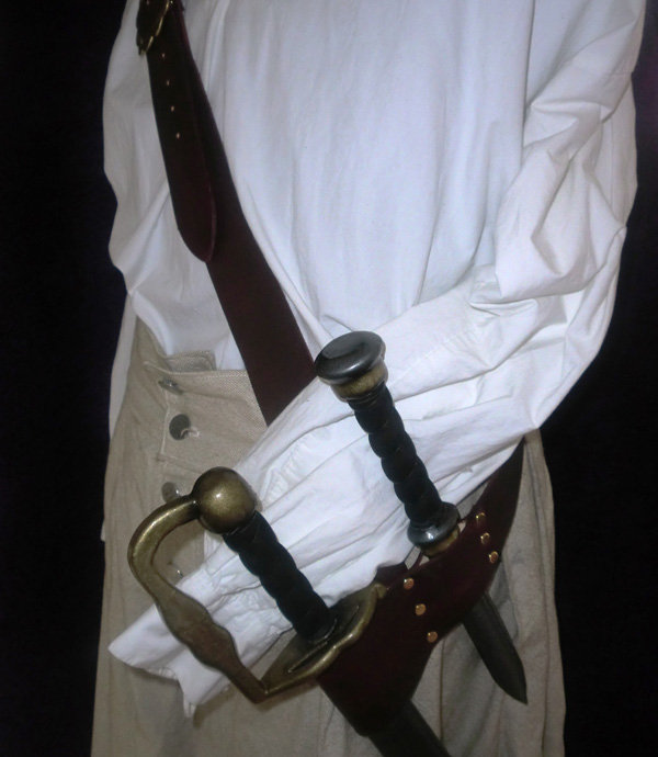 The Thomas Tew sword baldric