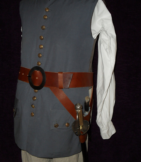 Militia or Pirate Swordbelt c.1700