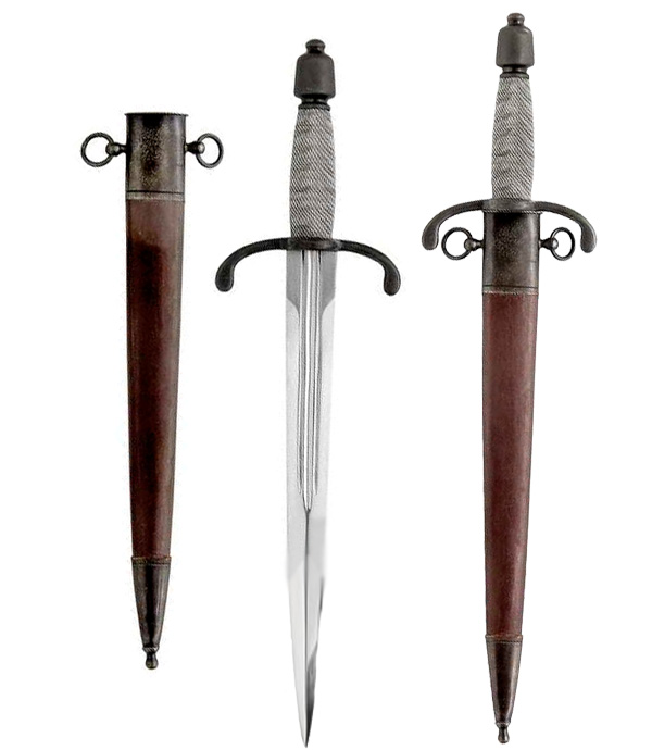 17th Century Main Gauche Dagger