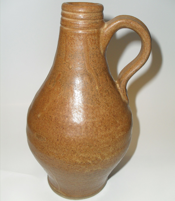 Stoneware Ale Bottle circa 1700