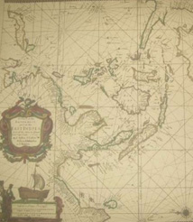 Replica 1690 English Seachart of the eastermost East Indies