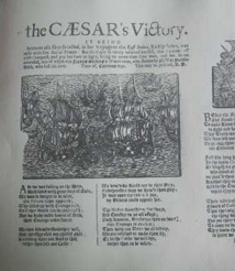 The CAESAR's Victory Ballad