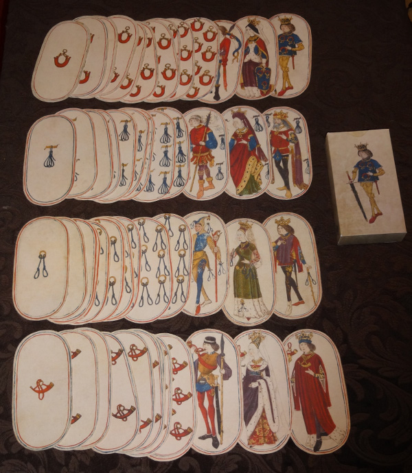 15th Century Oval Playing Cards