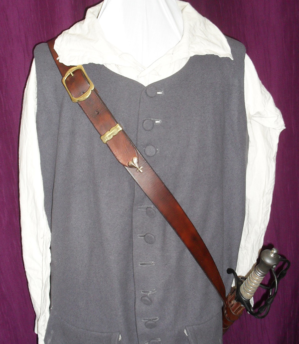 French baldric circa 1620 - 1640