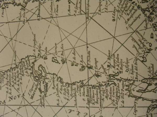 1684 Dutch chart of the West Indies - Click Image to Close