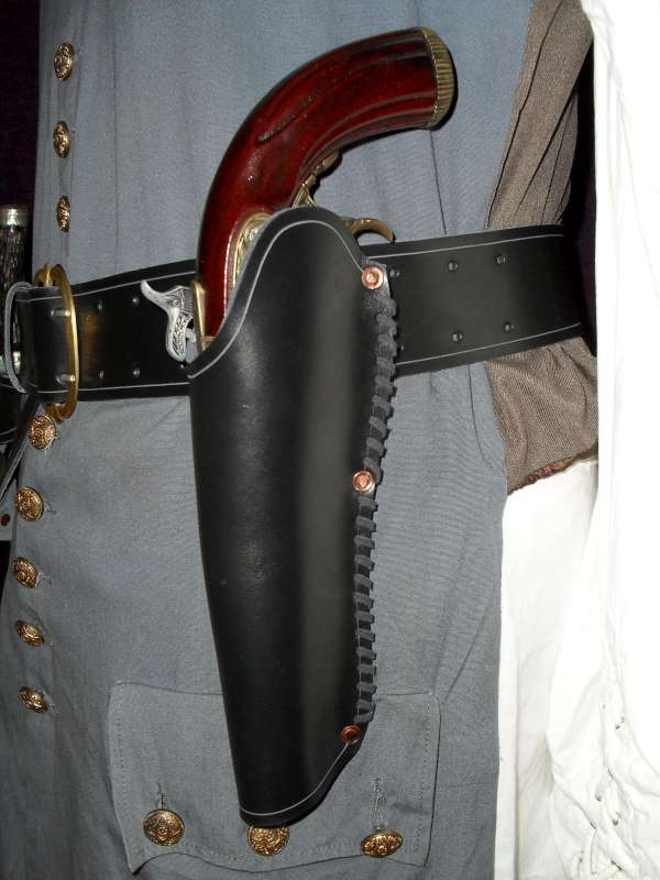 Pirate Flintlock Pistol Holster - Click Image to Close