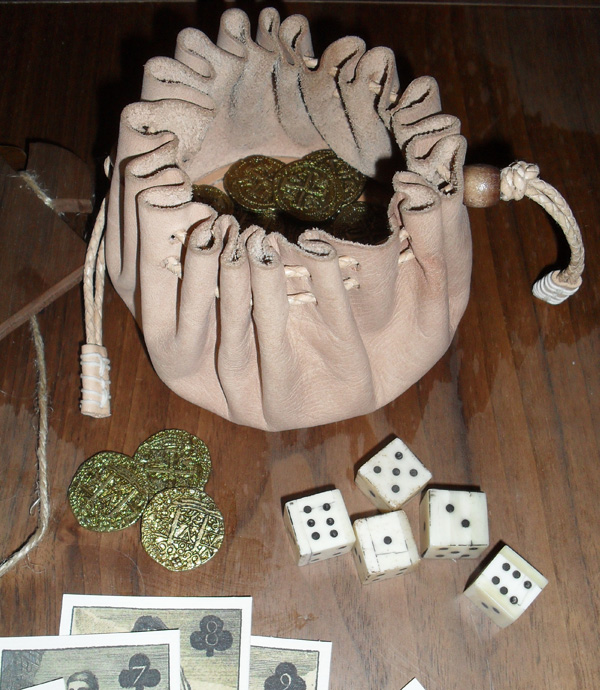 17th Century Gaming Pouch