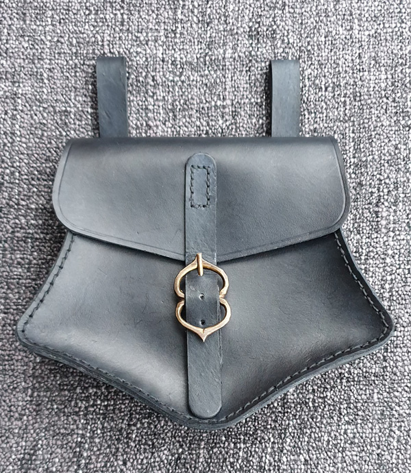 Large Shaped Belt Pouch